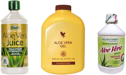 Comparing 3 Aloe Vera Juices in the UK